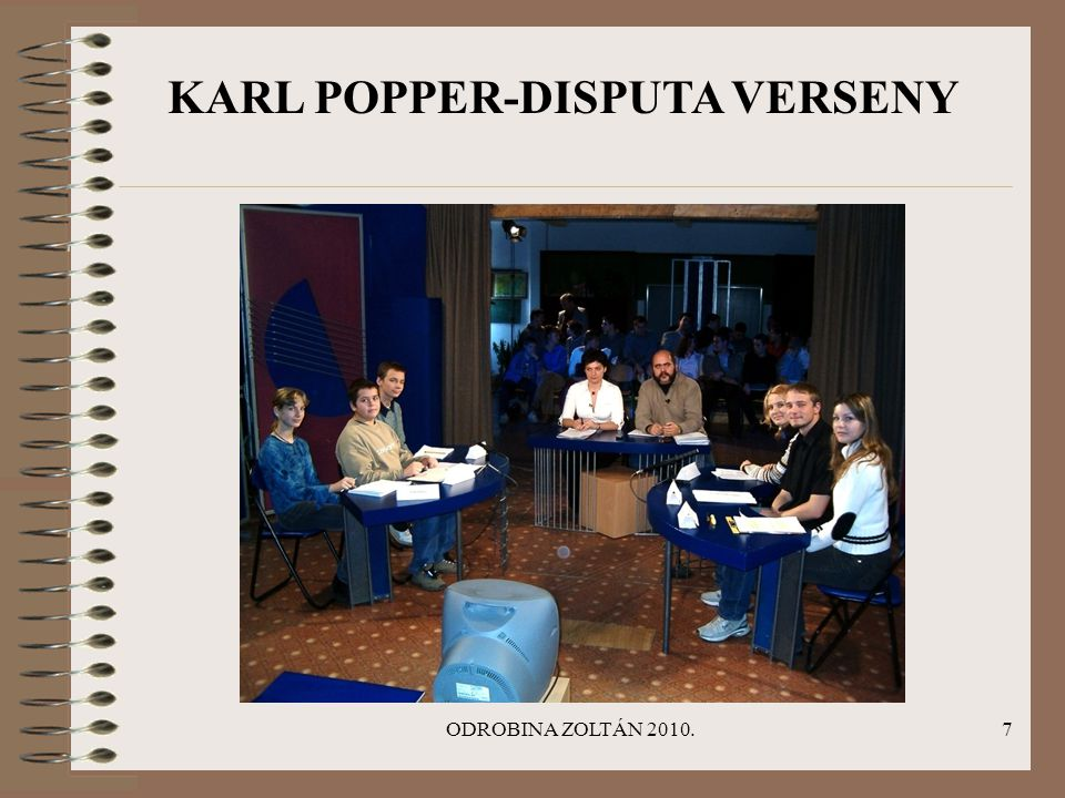 KARL POPPER-DISPUTA VERSENY