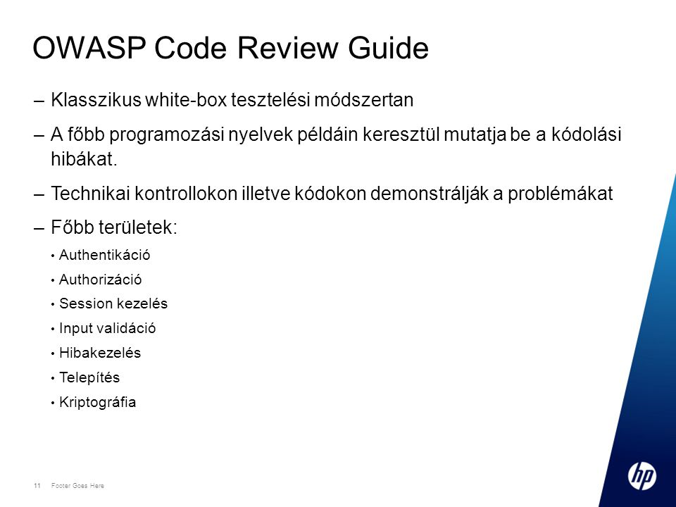 OWASP Code Review Guide