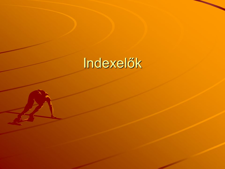 Indexelők