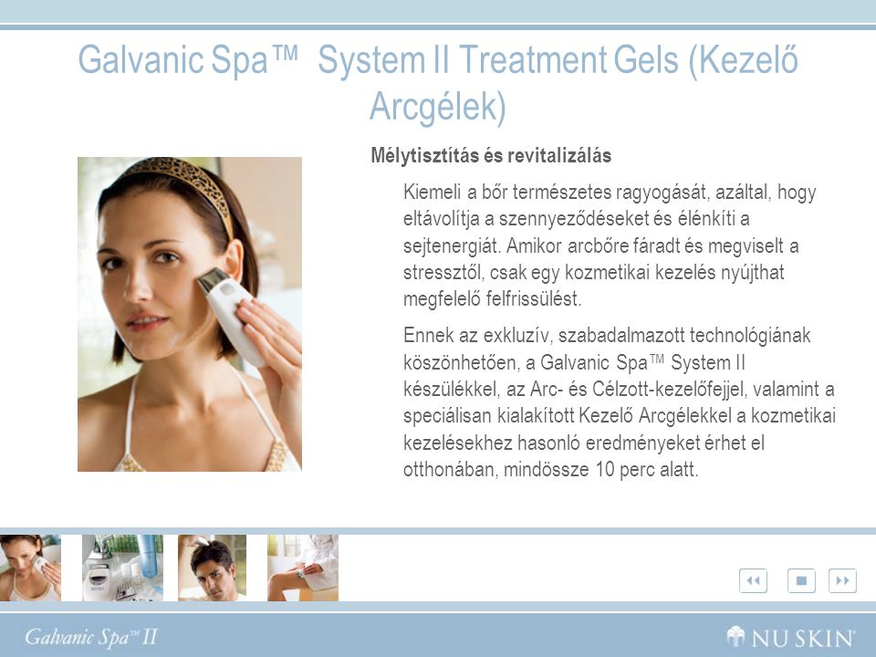Galvanic Spa™ System II Treatment Gels (Kezelő Arcgélek)
