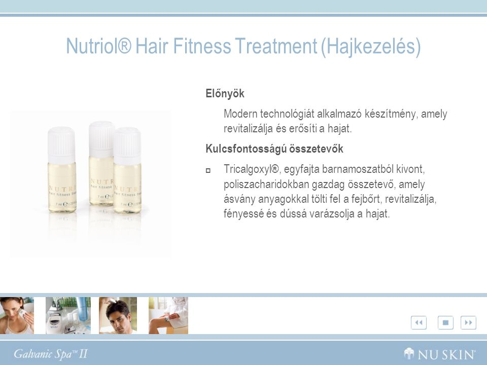 Nutriol® Hair Fitness Treatment (Hajkezelés)