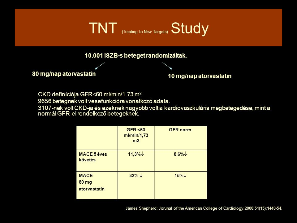 TNT (Treating to New Targets) Study
