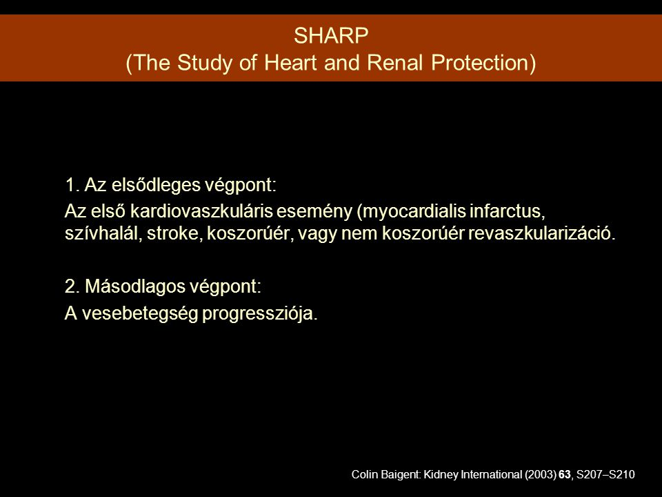 SHARP (The Study of Heart and Renal Protection)