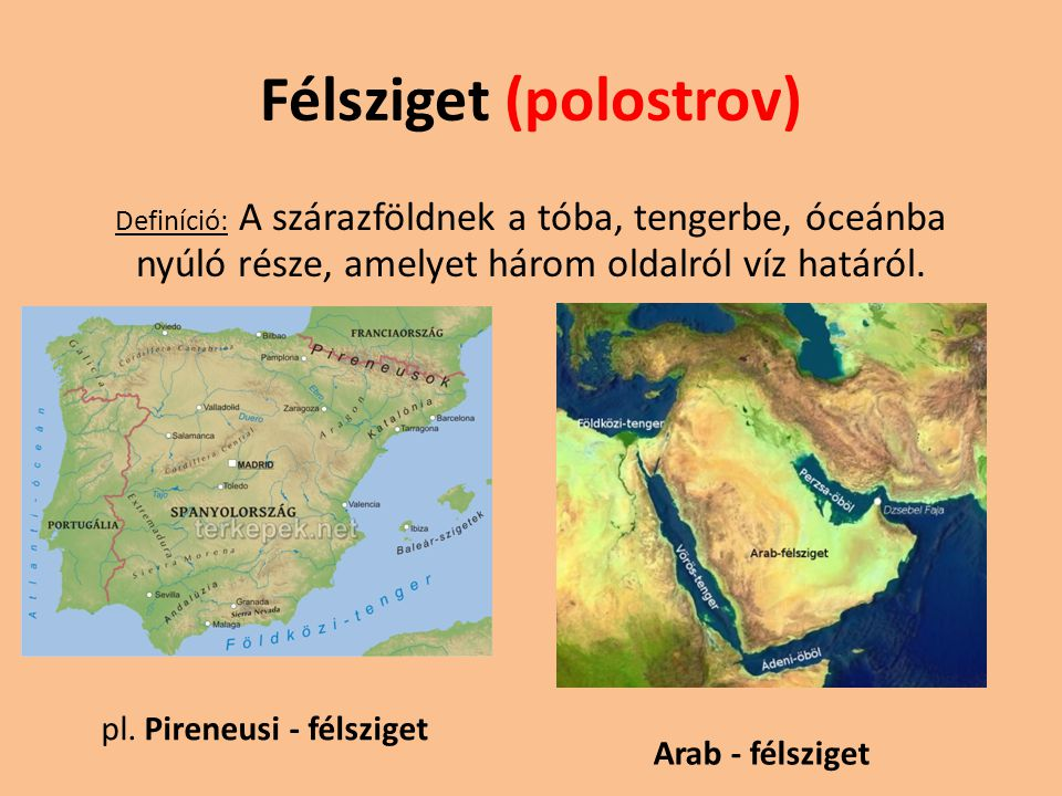 Félsziget (polostrov)