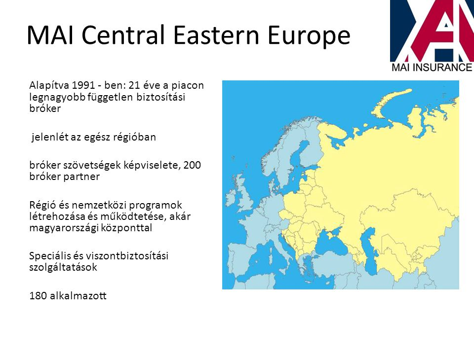 MAI Central Eastern Europe