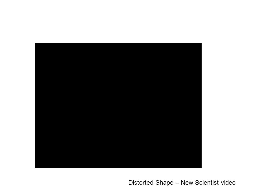 Distorted Shape – New Scientist video