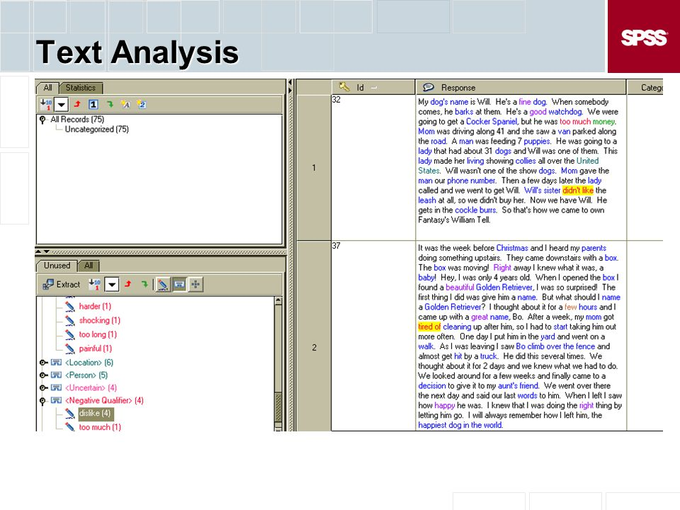 Text Analysis
