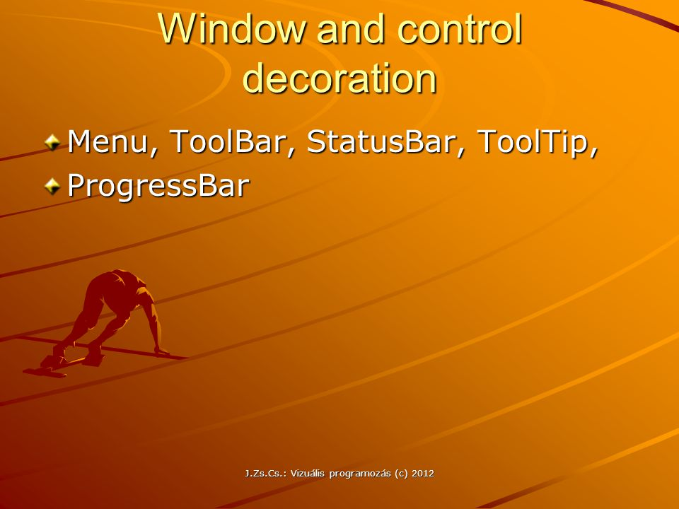 Window and control decoration