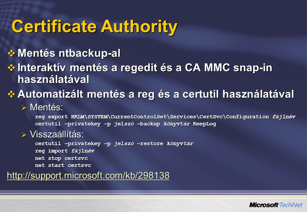 Certificate Authority