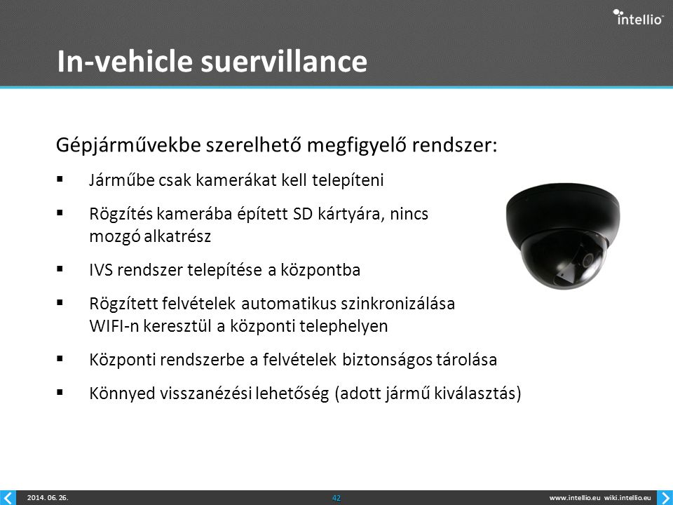 In-vehicle suervillance