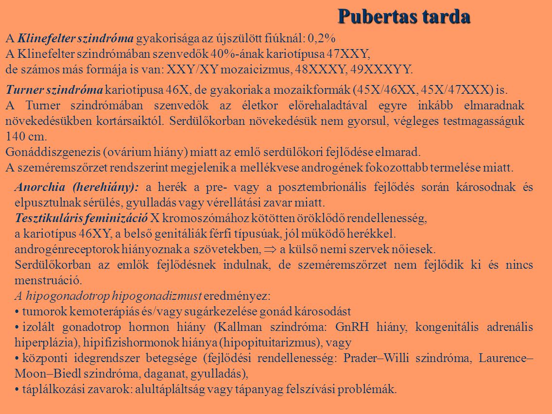 pubertás zsírvesztés