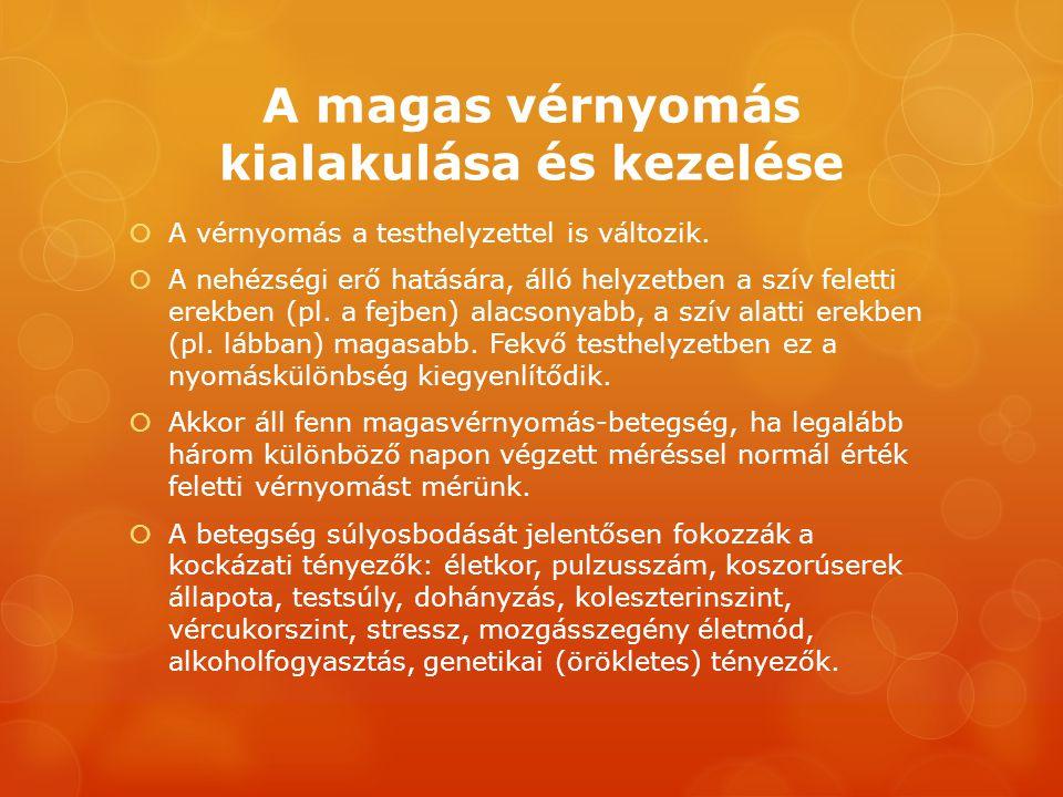 a hipertónia kezelésének súlyosbodása)