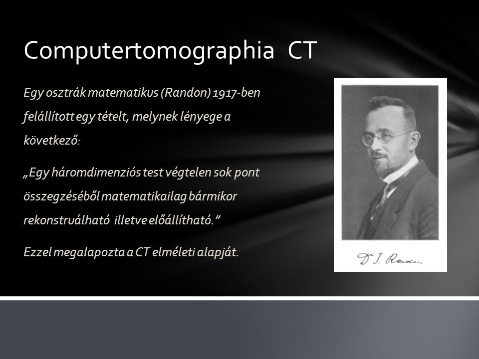 Computertomographia CT