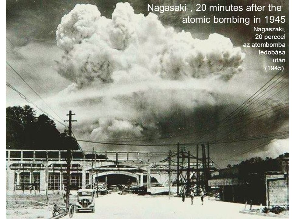 Nagasaki , 20 minutes after the