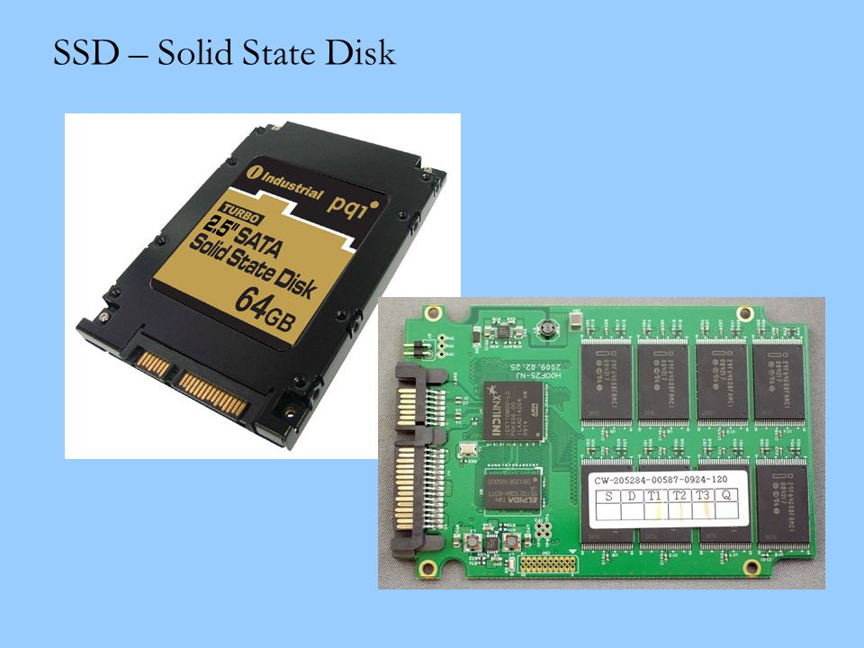 SSD – Solid State Disk