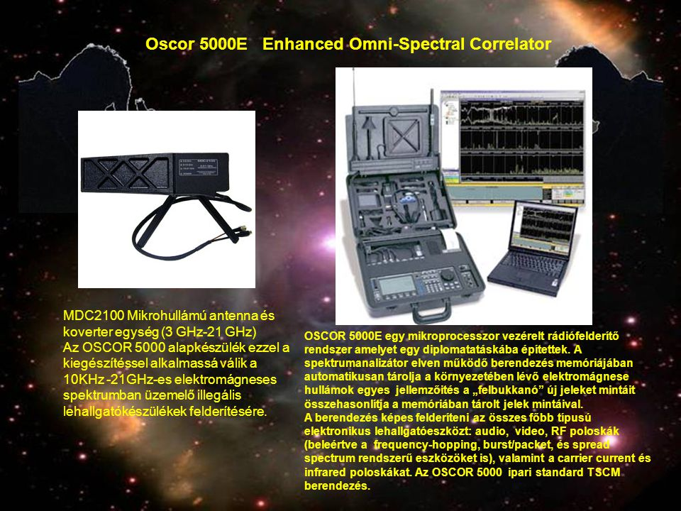 Oscor 5000E Enhanced Omni-Spectral Correlator