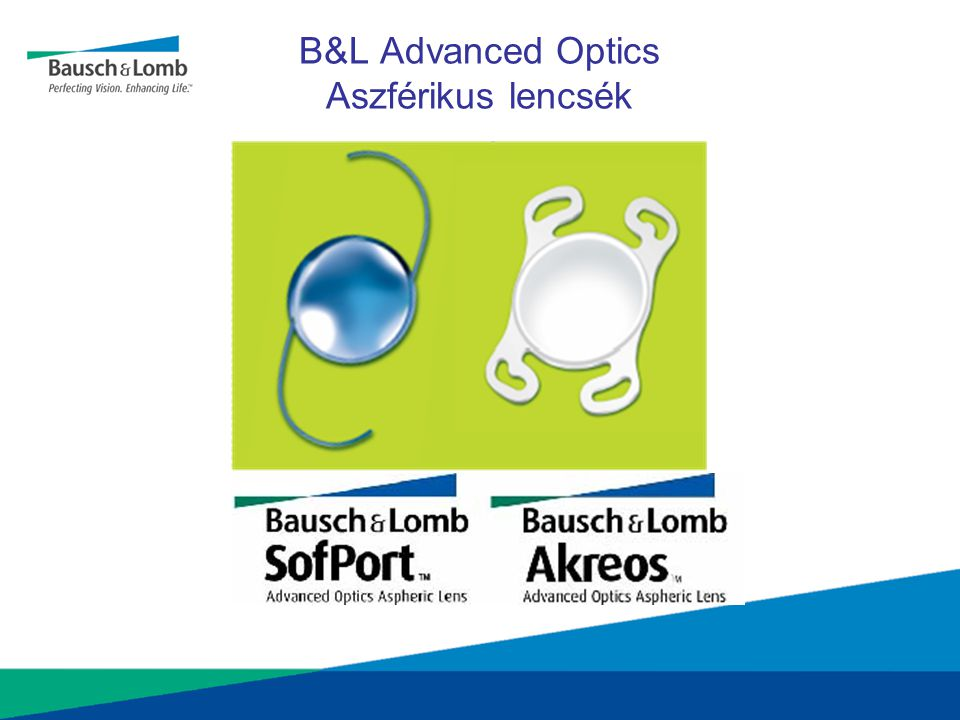 B&L Advanced Optics Aszférikus lencsék
