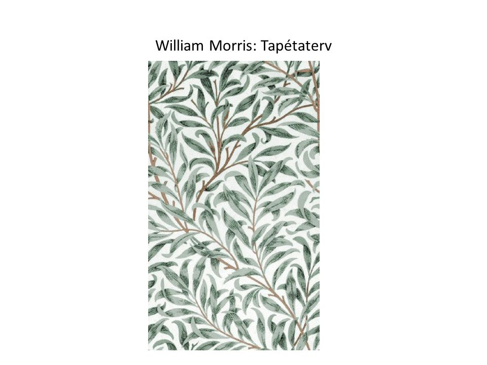 William Morris: Tapétaterv