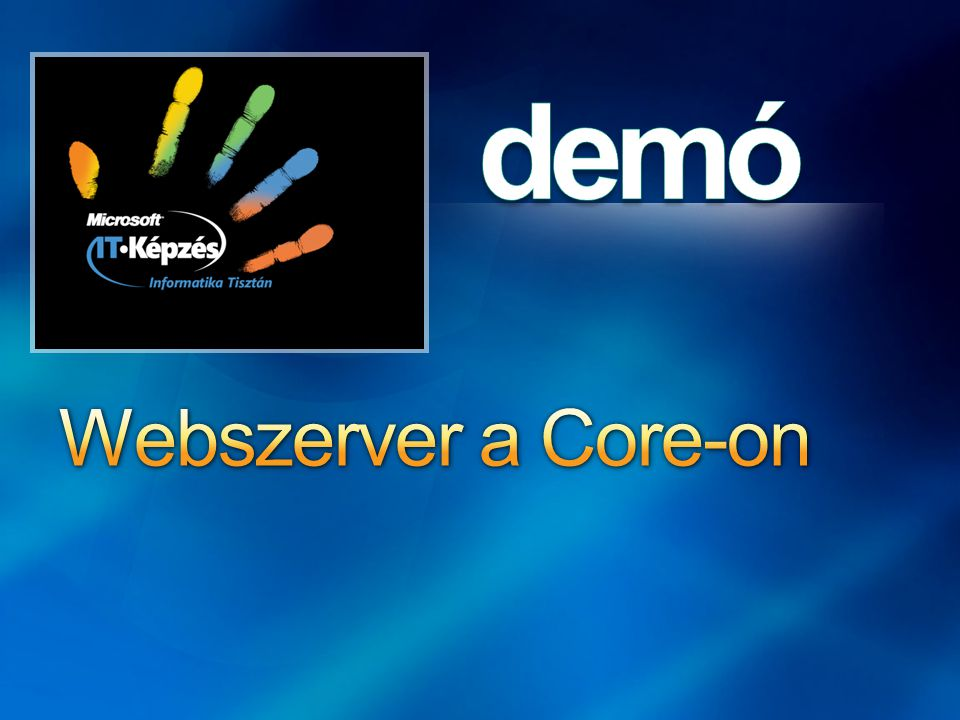 Webszerver a Core-on