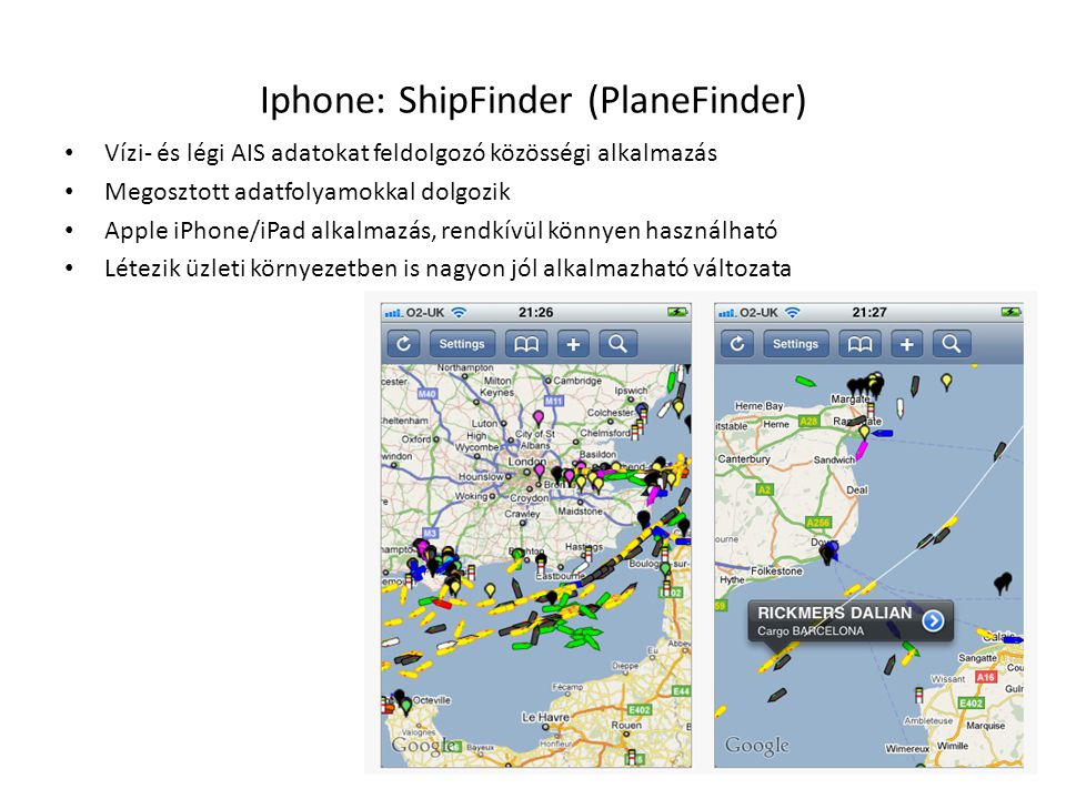 Iphone: ShipFinder (PlaneFinder)