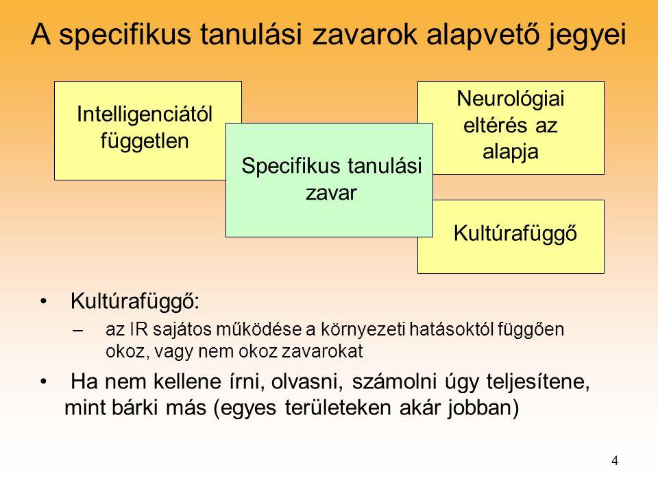 tanulási zavar)