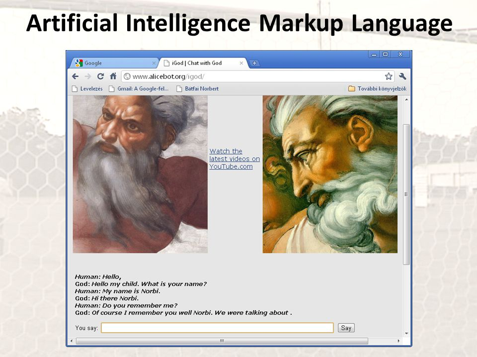 Artificial Intelligence Markup Language