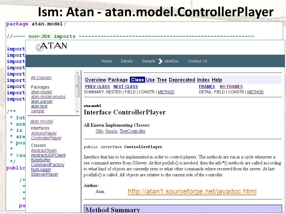 Ism: Atan - atan.model.ControllerPlayer