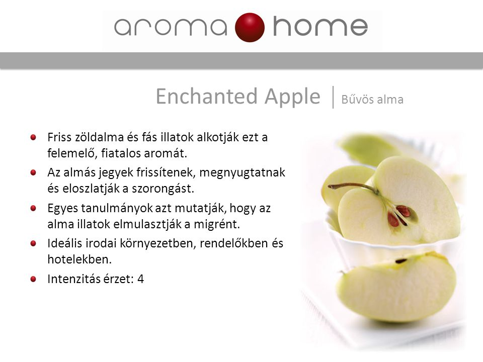 Enchanted Apple Bűvös alma