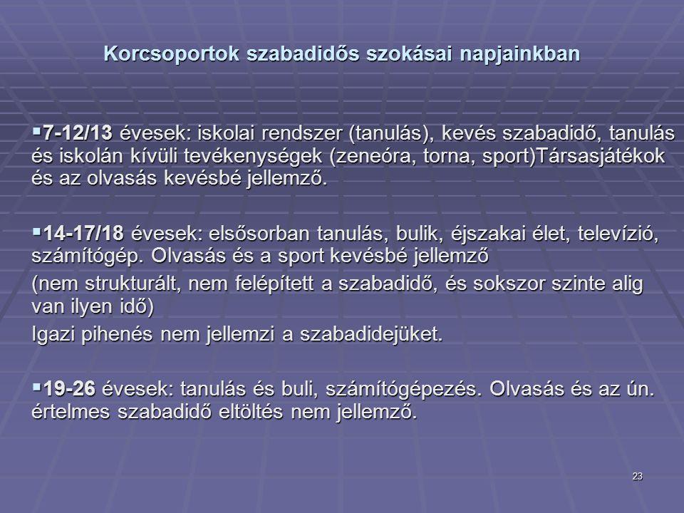 ismerkedés a szabadidős tevékenységek)