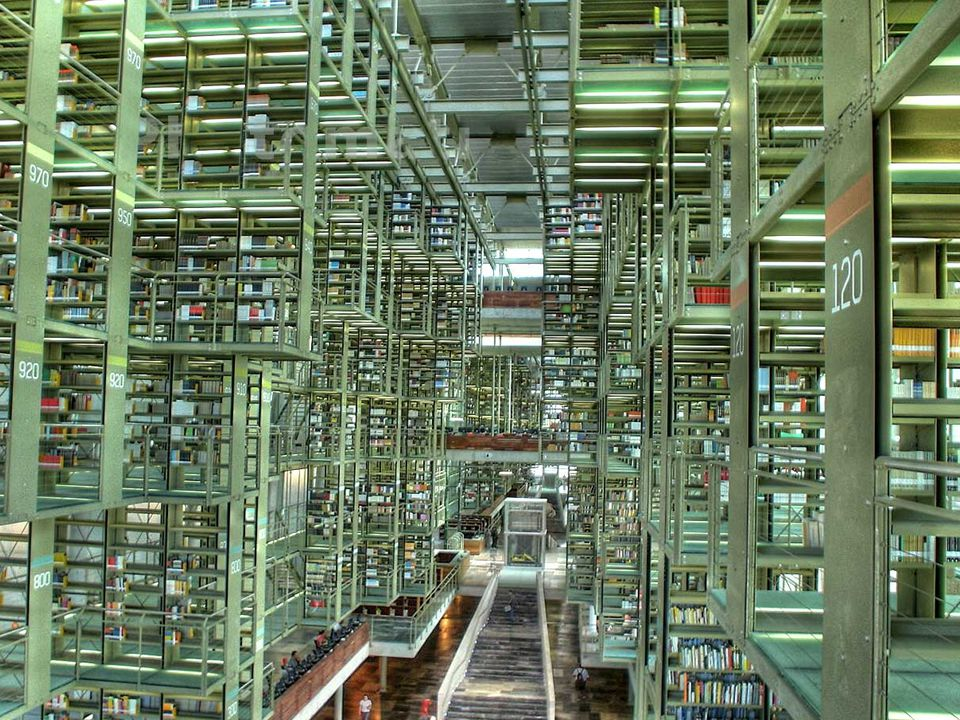 José Vasconcelos Calderon Library, Mexico City