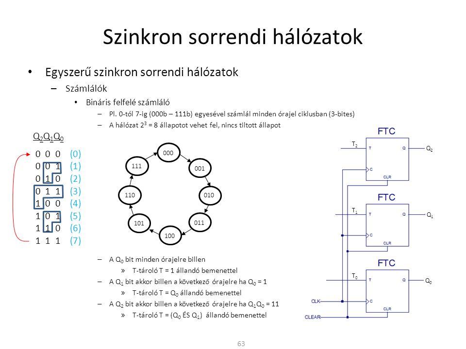 Digitális technika II. Rész  Sorrendi hálózatok - ppt letölteni ab1f01bac5