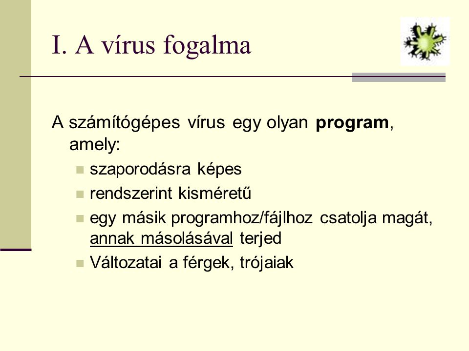 Vírusok, férgek, trójai programok - ppt letölteni
