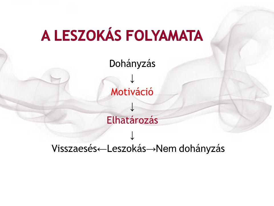 a gondolat ereje leszokott a dohányzásról)