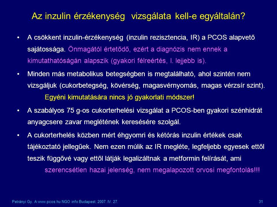 A policisztás ovárium szindróma (PCOS) diéta helye a betegség kezelésében