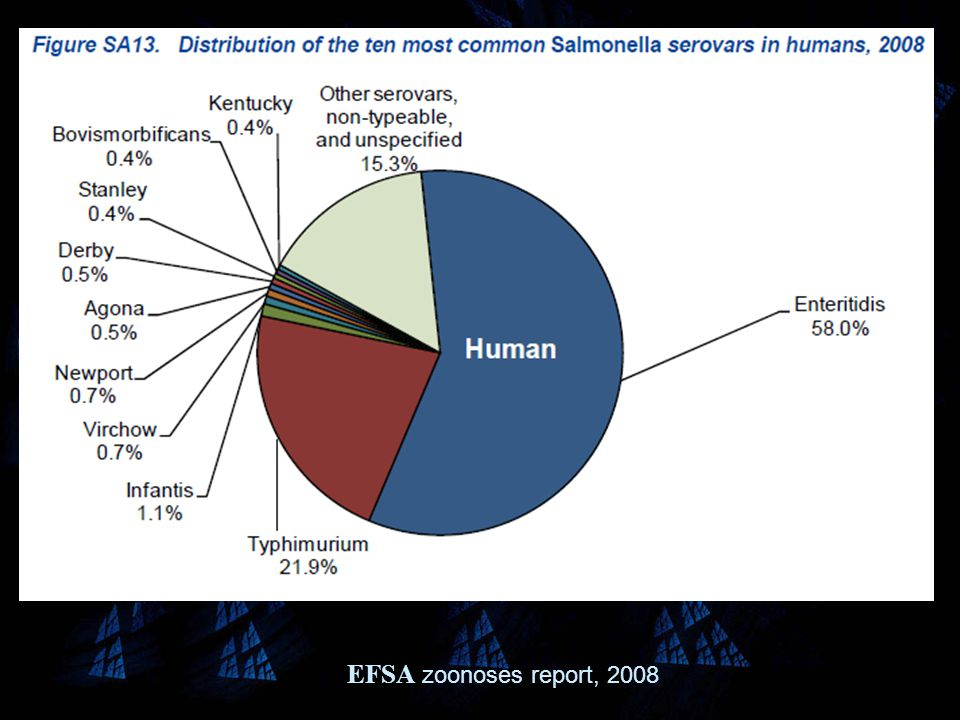 EFSA zoonoses report, 2008
