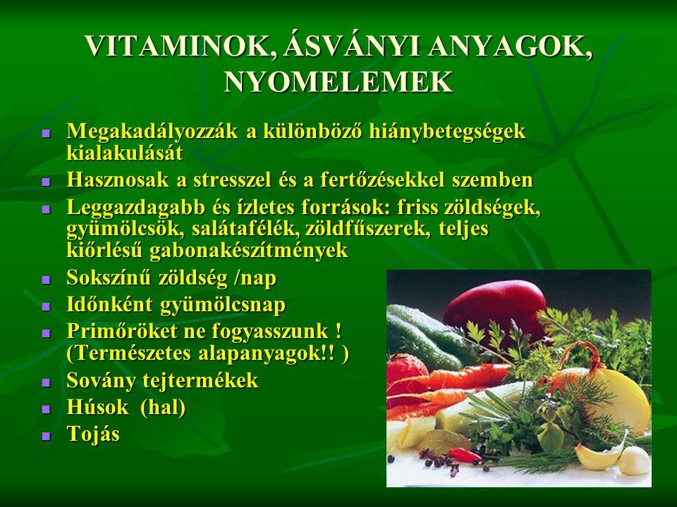 fogyjon, ha már egészségesen táplálkozik)