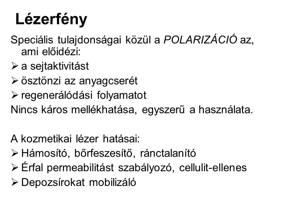 Lézerfény Speciális tulajdonságai közül a POLARIZÁCIÓ az 3face8431b