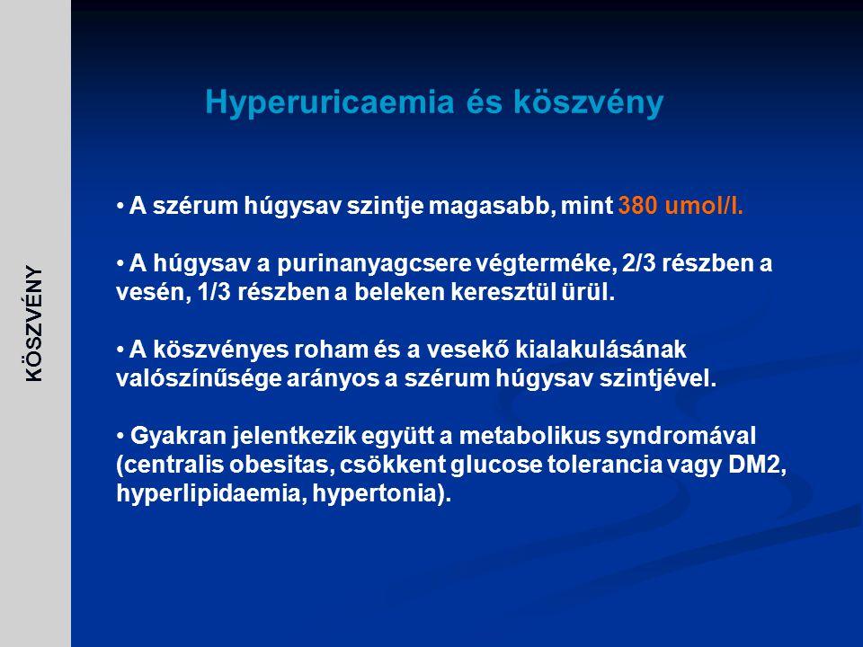 diuretikumok magas vérnyomás és köszvény esetén