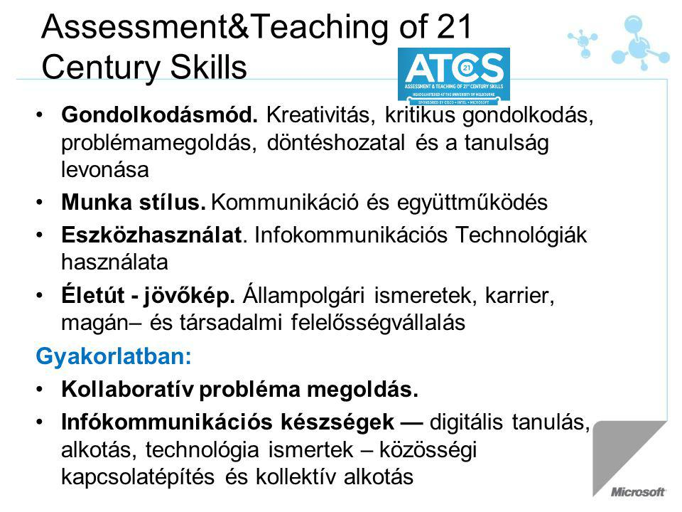 Assessment&Teaching of 21 Century Skills