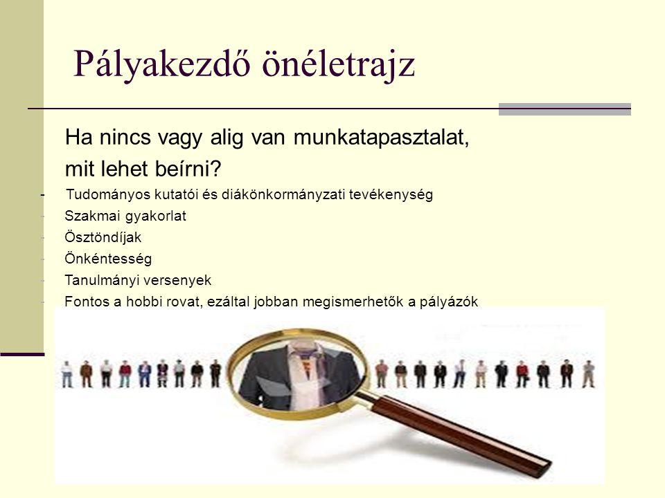 önéletrajz ha nincs szakmai tapasztalat Budapest Főváros XV. kerületi Önkormányzat ESZI Újpalotai  önéletrajz ha nincs szakmai tapasztalat