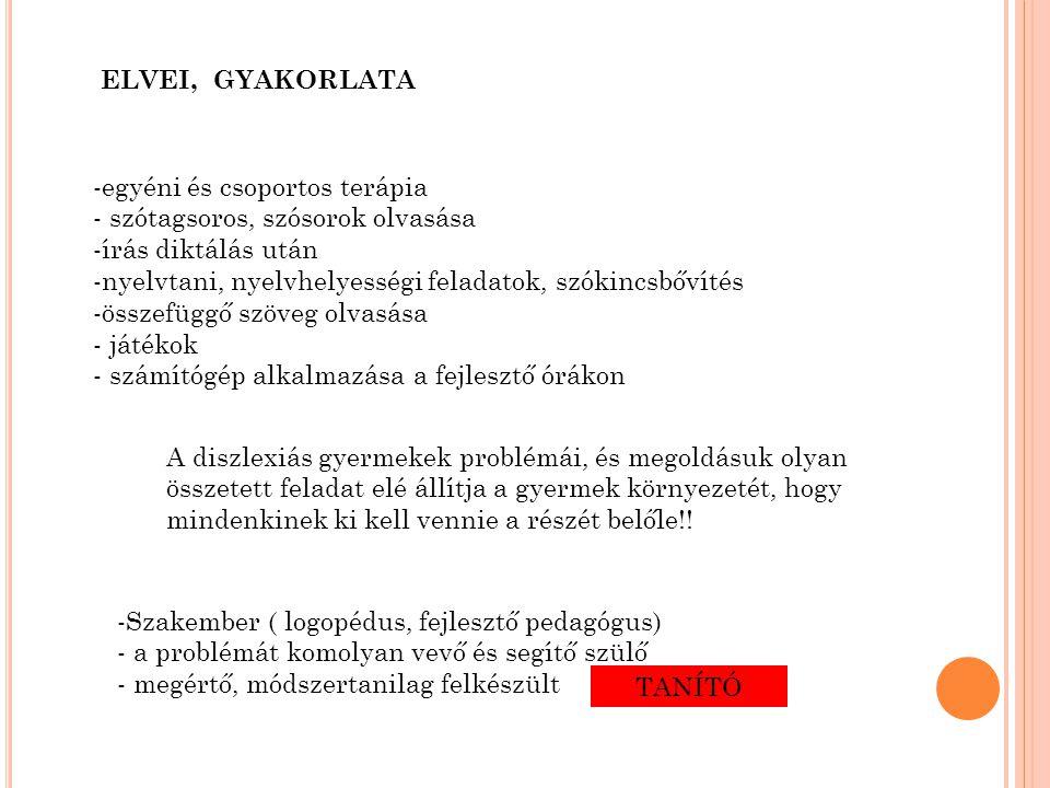 diszlexiás látás)