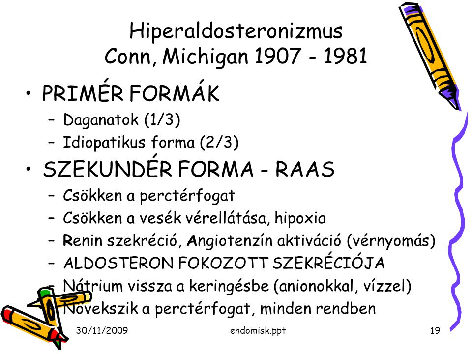 Hiperaldosteronizmus Conn, Michigan