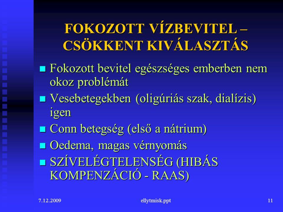 magas vérnyomás és vízbevitel)