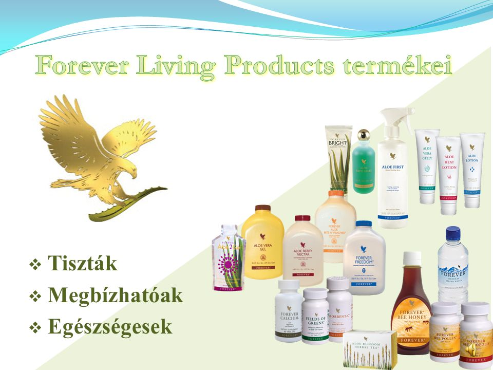 Forever Living Products termékei