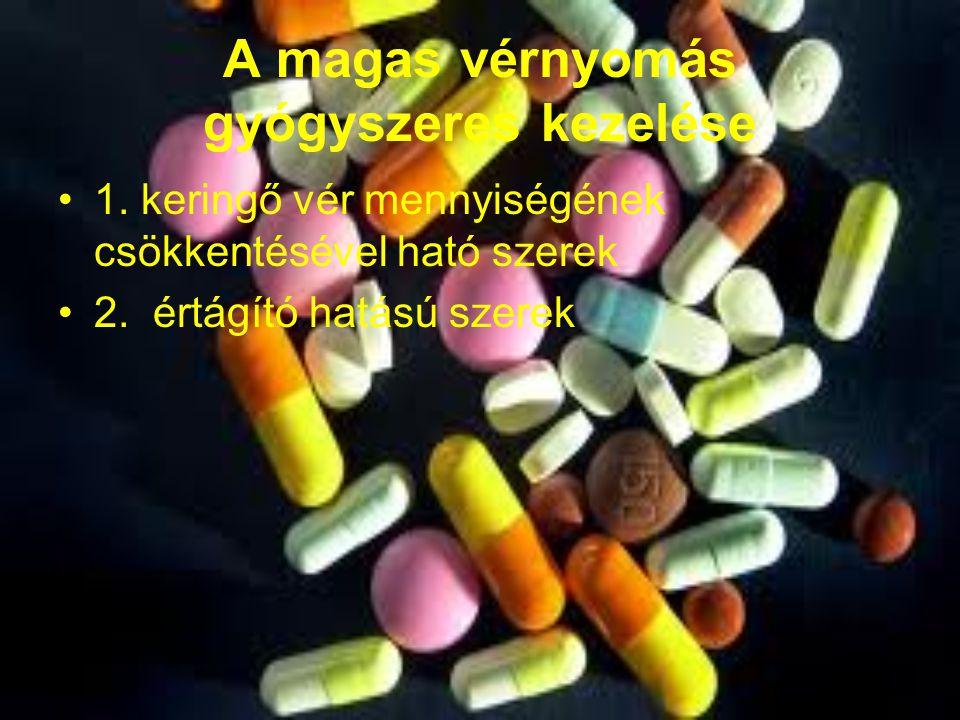 2 fokú magas vérnyomás kezelése gyógyszerekkel)