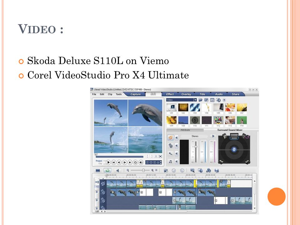 Video : Skoda Deluxe S110L on Viemo Corel VideoStudio Pro X4 Ultimate