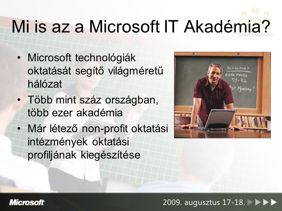 Mi is az a Microsoft IT Akadémia
