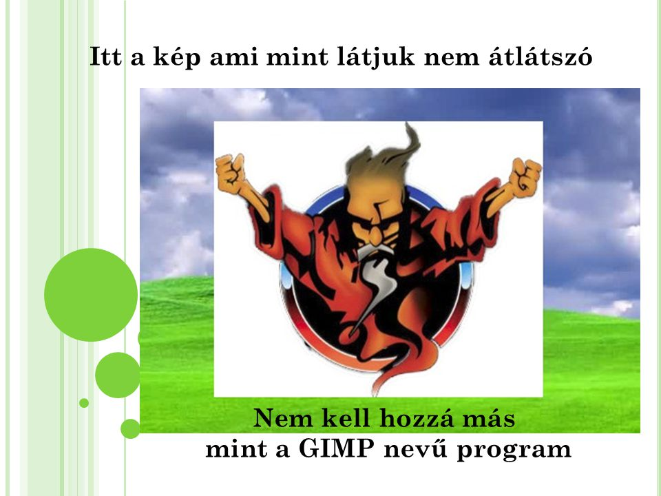 mint a GIMP nevű program