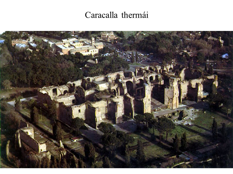 Caracalla thermái