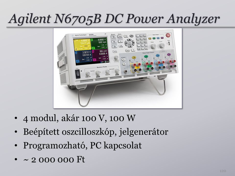 Agilent N6705B DC Power Analyzer